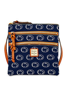 Dooney & Bourke Penn State Triple Zip Crossbody