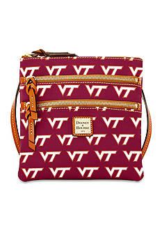 Dooney & Bourke Virginia Tech Triple Zip Crossbody