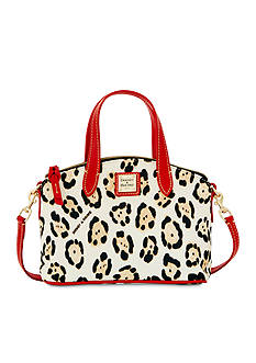 Dooney & Bourke Animal Print Mini Satchel Crossbody Bag