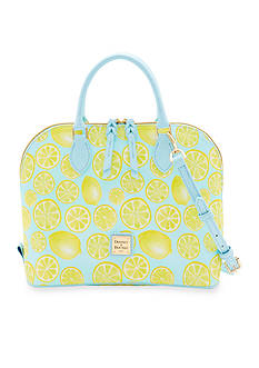 Dooney & Bourke Limone Zip Zip Satchel