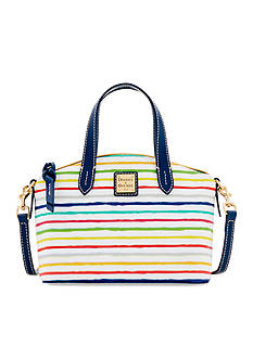 Dooney & Bourke Multi Stripe Ruby Mini Satchel