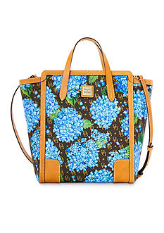 Dooney & Bourke Sign Hydrangea N/S Shopper