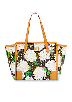 Dooney & Bourke Sign Hydrangea E/W Shopper