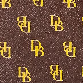 Handbags & Accessories: Shoulder Bags Sale: Brown T'mo Dooney & Bourke Gretta Signature Hobo