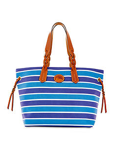 Dooney & Bourke Nylon Stripe Shopper