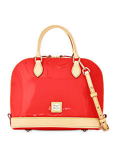 Dooney & Bourke Patent Leather Zip Satchel