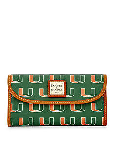 Dooney & Bourke Miami Clutch Wallet