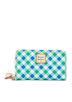 Dooney & Bourke Gingham Phone Wristlet