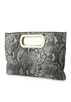 Jessica McClintock Open Handle Clutch