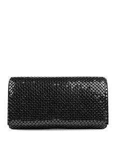 Mundi Metal Mesh Flap Clutch