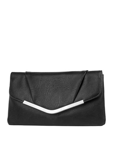 JESSICA MCCLINTOCK Better Than Leather Arielle Envelope Clutch