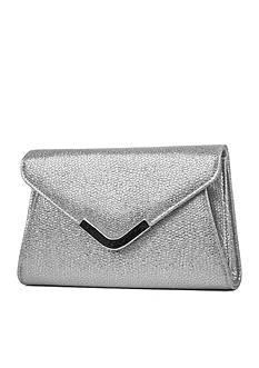 JESSICA MCCLINTOCK Metallic Snake Lily Bag