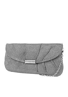 Jessica McClintock Metallic Lurex Clutch