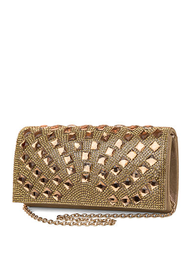 JESSICA MCCLINTOCK Chloe Clutch with Jewels