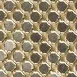 Jessica Mcclintock Handbags & Wallets: Gold JESSICA MCCLINTOCK Metal Mesh Piper Clutch