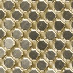 Trends - the EDIT: Sparkle & Shine: Gold JESSICA MCCLINTOCK Metal Mesh Piper Clutch