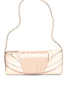 Jessica McClintock Satin Flap Evening Bag