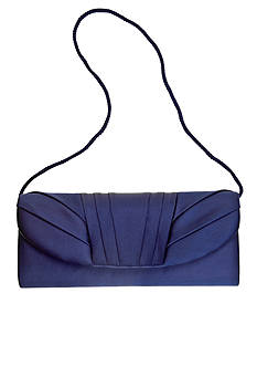Jessica McClintock Satin Flap Evening Bag