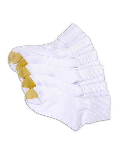 Gold Toe® Turn Cuff Six Pair Pack Socks