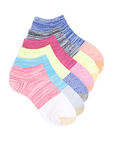 Gold Toe® Feminine Jersey Liner  6 Pair Socks