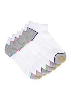Gold Toe Outliner No Show Socks - 6 Socks