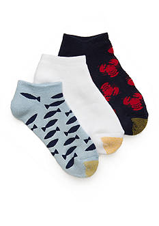 Gold Toe® Lobsters and Fish Socks 3 Pack