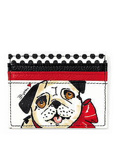 Brighton® Paris Pug Card Case