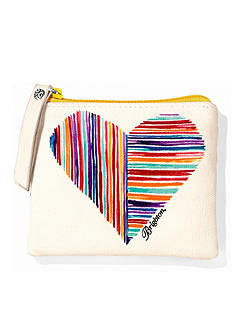 Brighton Bright Hearts Small Pouch