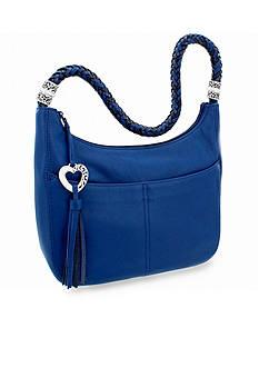 Brighton Barbados Zip Top Hobo Bag
