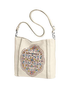 Brighton Anjulina Beaded Bucket Bag