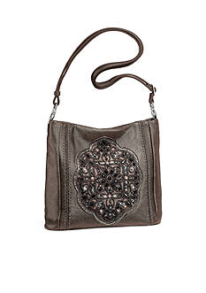 Brighton Anjulina Beaded Soft Bucket Bag