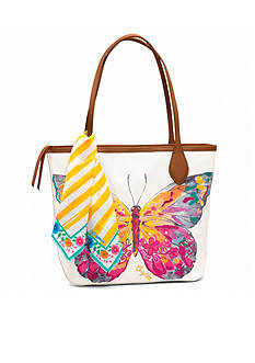 Brighton Flynn Embroidered Tote