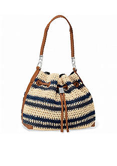 Brighton Sierra Straw Hobo