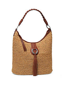 Brighton Novara Straw Hobo