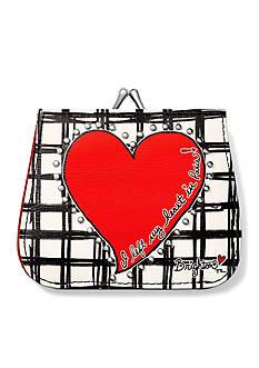 Brighton Paris Heart French Kiss Wallet