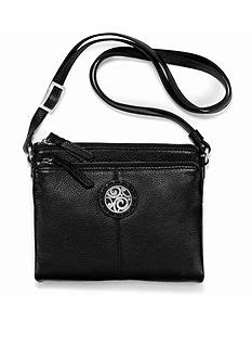 Brighton London Groove Double Zip Organizer Crossbody