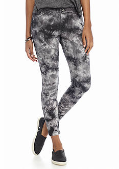 HUE® Tie Dye Super Smooth Denim Skimmer Leggings