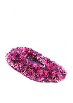 HUE Feathery Shoe