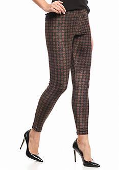 HUE Mosaic Velvet Leggings