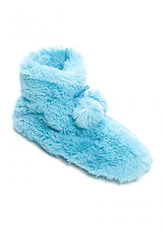 HUE Furry Booties