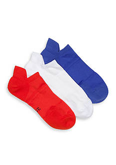 HUE® Air Sleek Tab Socks