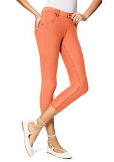 HUE Essential Denim Capri Leggings