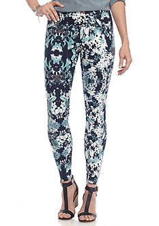 HUE® Bouquet Essential Denim Leggings