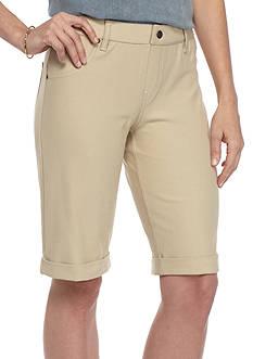 HUE Essential Denim Boyfriend Short Leggings
