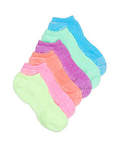 HUE® Recycled Cotton Liner 6-Pair Socks