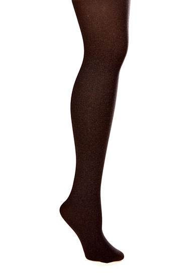 HUE® Control Top Opaque Tights