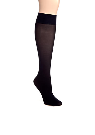 HUE® Revitalizing Opaque Knee High Sock