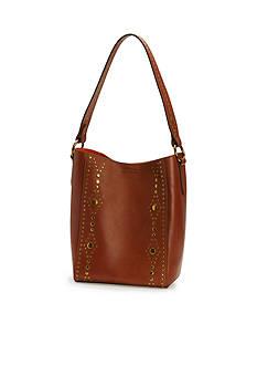 Frye Harness Stud Bucket-Look Book Bag