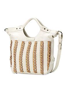 Frye Tricia Weave Shoulder Bag