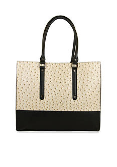 New Directions® Myles Ostrich Shopper
